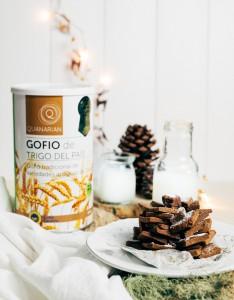 Arbolitos de Gofio y Chocolate
