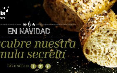 Baguette rústica de invierno con semillas y perfumado de cítricos y miel