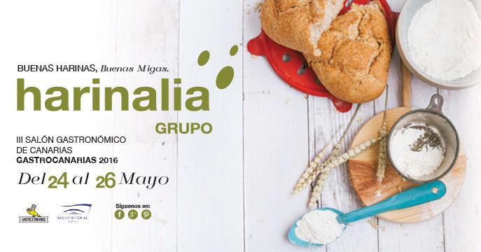 GRUPO HARINALIA CANARIAS en el III Salón Gastronómico de Canarias – Gastrocanarias 2016