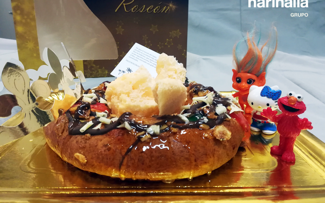 Harinalia y su tradicional entrega de Roscones de Reyes