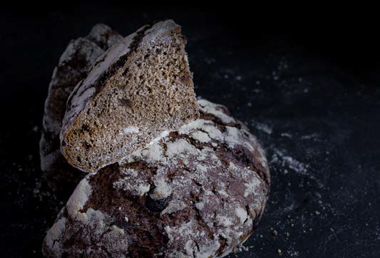Torta de Centeno Integral con Perlas de Chocolate
